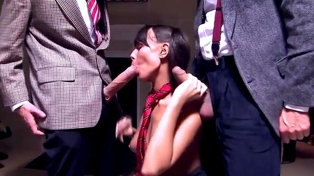 naughty and wild girl blowjob