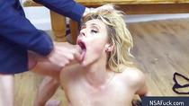 Exotic blowjob with red mount