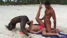 horny baby ass fuck in the beach